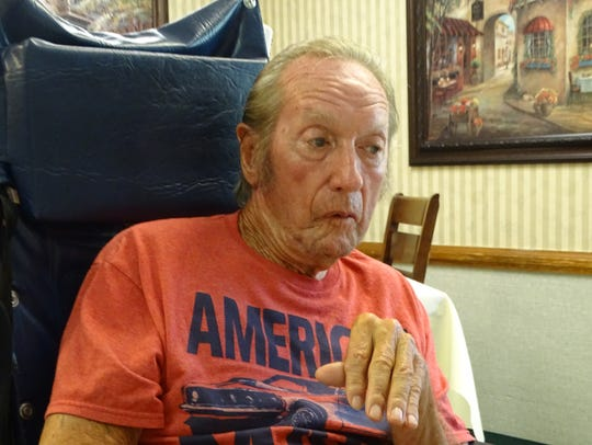 Gene Lentz, 79, talks about achieving his wish of attending