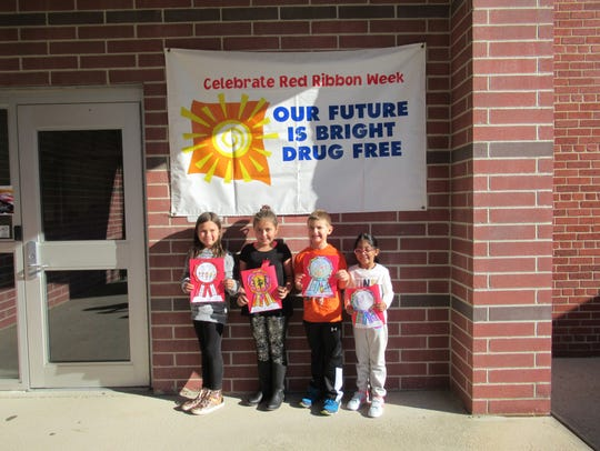 Students at Whitehouse School celebrated Red Ribbon