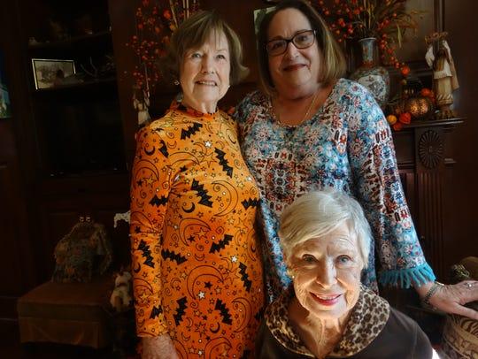 Jane Hayden, Carole Ransom, Adele Ransom