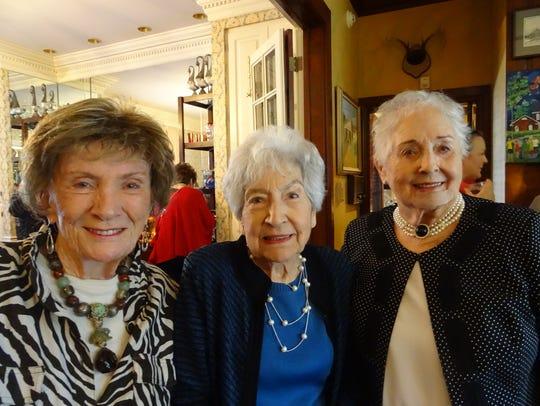 Judy Worthen, Rosemary Luffey, Pat Blanchard