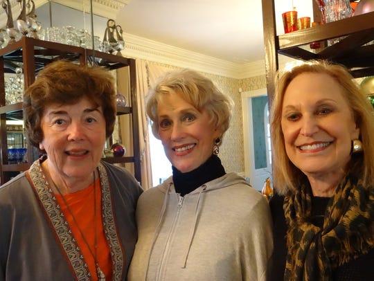Nancy Inabnett, Dianne Cage, Marilyn Stern