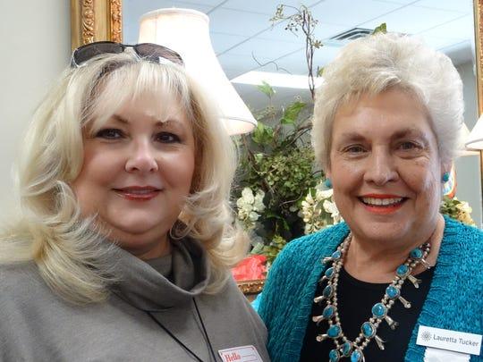 Michelle Brown, Lauretta Tucker