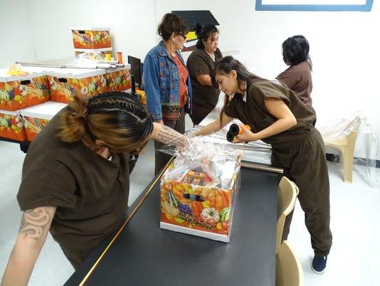 Otero County Prison Facility Thanksgiving