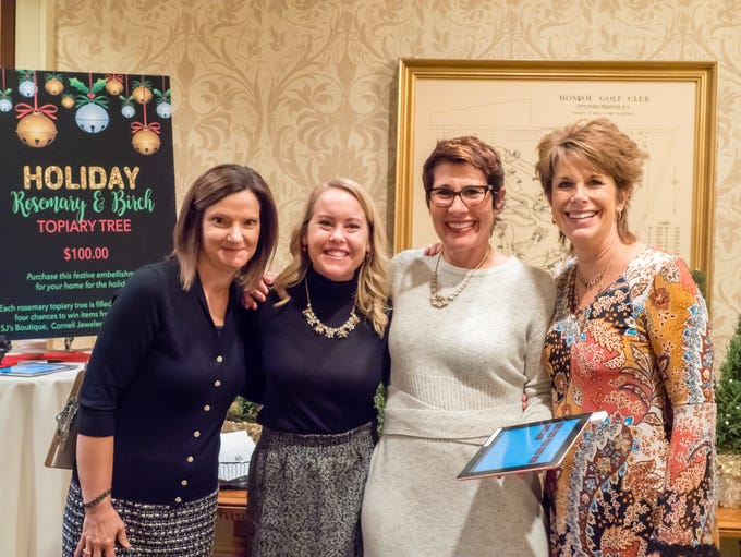 Sue Czap, Kelly Palmer, Judy Zeeman-Golden, Lisa Abbott-Cisco.