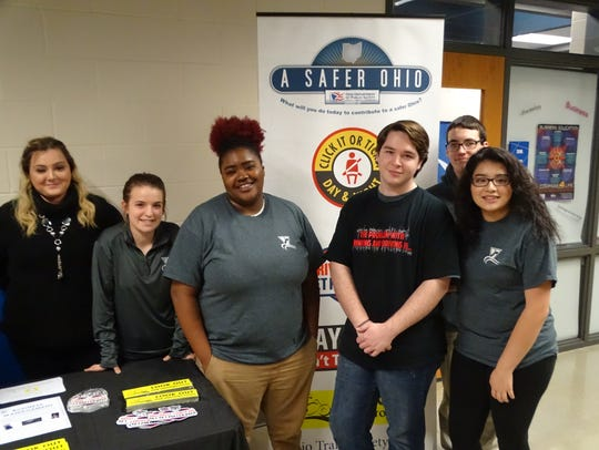 Vanguard Tech students are promoting driver safety