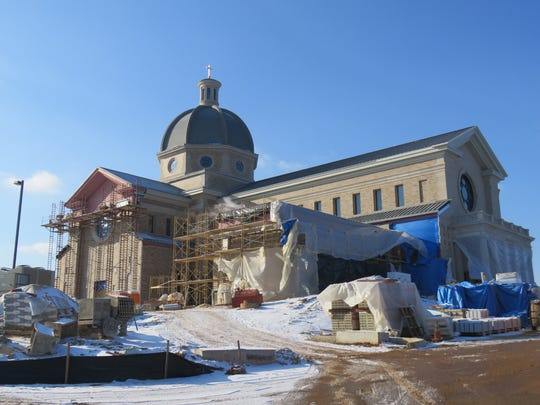 Sacred Heart Cathedral plans an early March dedication for the new addition.