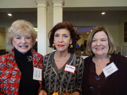Dianne Walters, Ann McClendon, and Linda Taylor