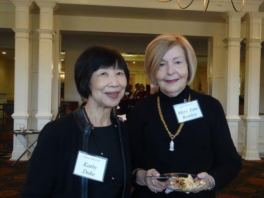 Kathy Duke and Mary Jane Bentley