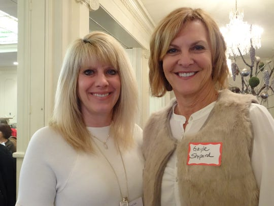 MGC chairmen Lana Forte and Gayle Shepard
