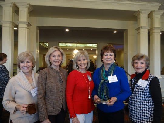 Kathleen Hunt, Carolyn Rester, Brenda Rowan, Kay Baughman,
