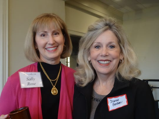 Sally Rose and Charvie Gordon