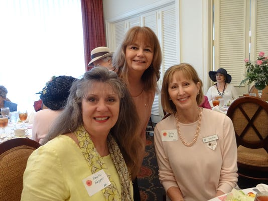 Paula Napper, Vicki Robinson, and Sally Rose
