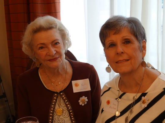 Ruth Carmichael and Ann Bellue