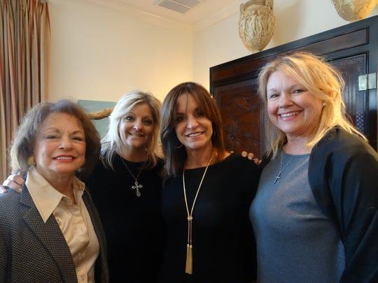 Barbara Cattar, Lisa Nelson, Allison Cattar, and Denise Smith