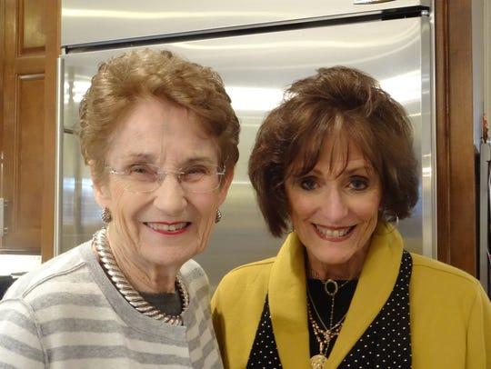 Carole Kilpatrick and Kathy Hart