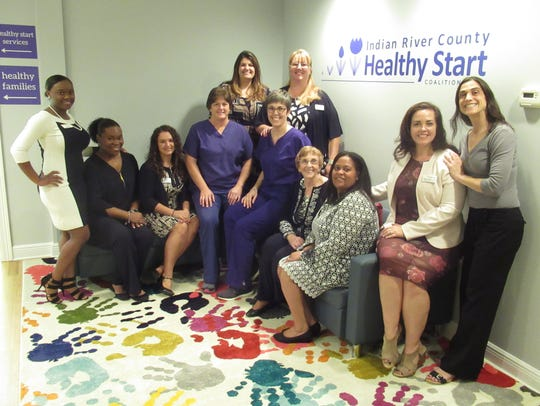 Indian River County Healthy Start Coaltion staff, from