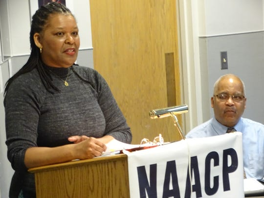 Mae Dell Leake and Dallas Leake of the Fremont NAACP