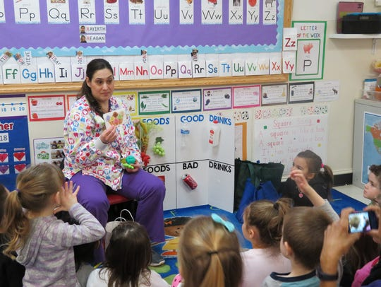 Kangaroo Kids was visited by Julie Tarlow and her Dragon