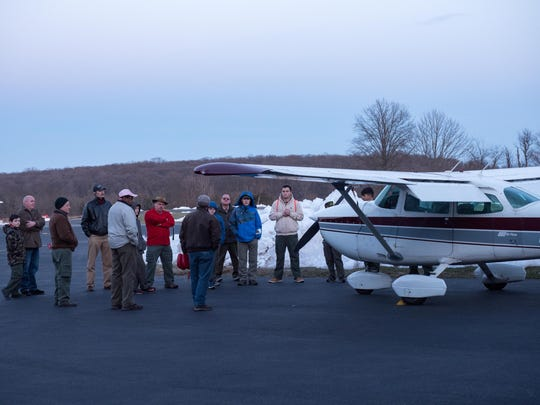 On Monday, March 19, scouts from Troop 121, Clinton, had a guided tour of Sky Manor Airport, Pittstown. The scouts learned about the types of small aircraft that are often seen in the local sky, aviation training and using a flight simulator. Visit www.skymanorairport.com.