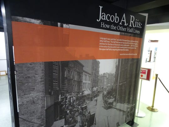 """Jacob A. Riis: How the Other Half Lives,"" features Riis' work as a photographer in the late 19th century in New York City and his focus on recent immigrants to the United States."