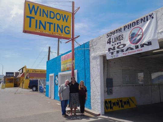 South Phoenix business owners Larry Cohen, Celia Contreras