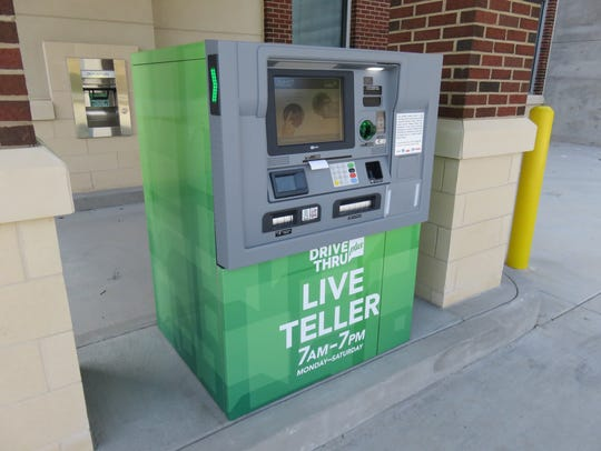 "Bank of Tennessee features new ""Live Teller"" drive-through"