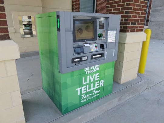 "Bank of Tennessee features new ""Live Teller"" drive-through service."