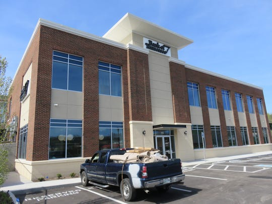 The new Bank of Tennessee branch at Brookview Centre Way in Bearden opened in early April.