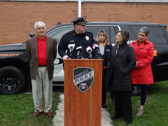 The Endicott Police department debuted three new vehicles