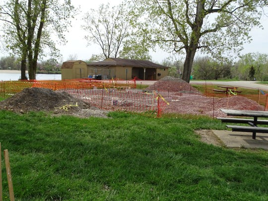 The Sandusky County Park District is putting in new restrooms and a water/sewer line extension  at White Star Park as part of a pair of major improvement projects at the park.