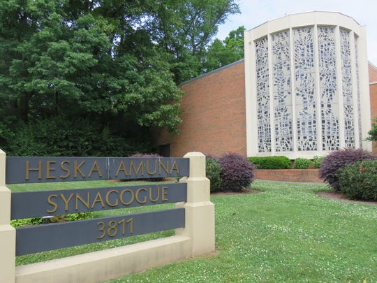 Heska Amuna Synagogue has been a Kingston Pike landmark in Sequoyah Hills for decades.