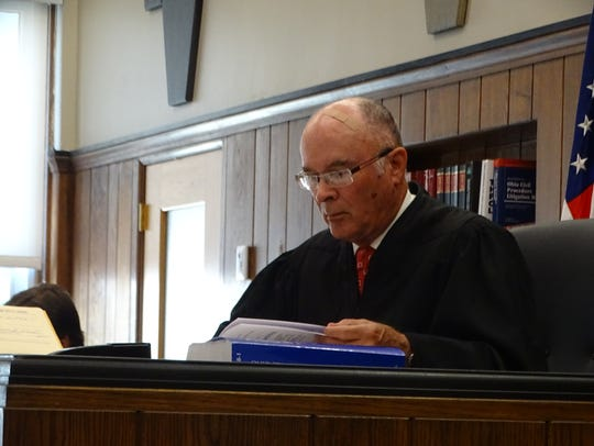 Sandusky County Common Pleas Court Judge John Dewey
