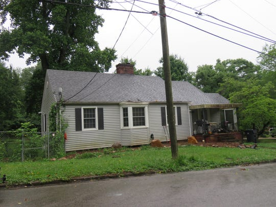 The boyhood home of John Ward on Fisher Place in the