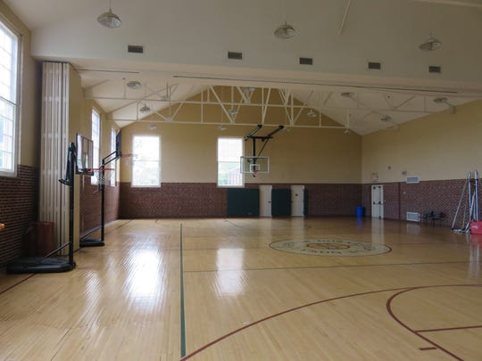 The old school gym is available for use by tenants.