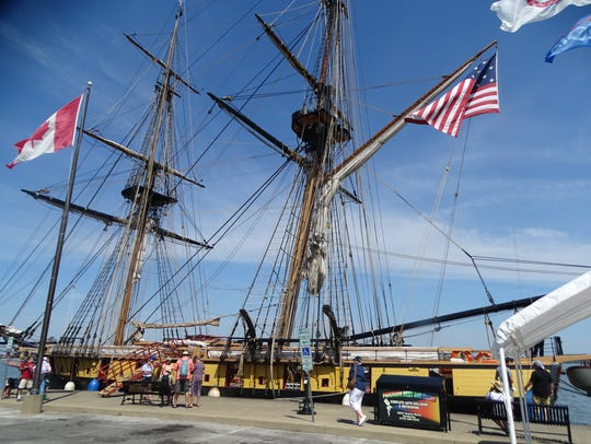 Historic tall ships will be on display at Festival of Sail Sandusky this weekend. The festival started Thursday and includes live entertainment and ships that include the U.S. Brig Niagara, Schooner Madeline, Appledore IV and the Lettie G. Howard.