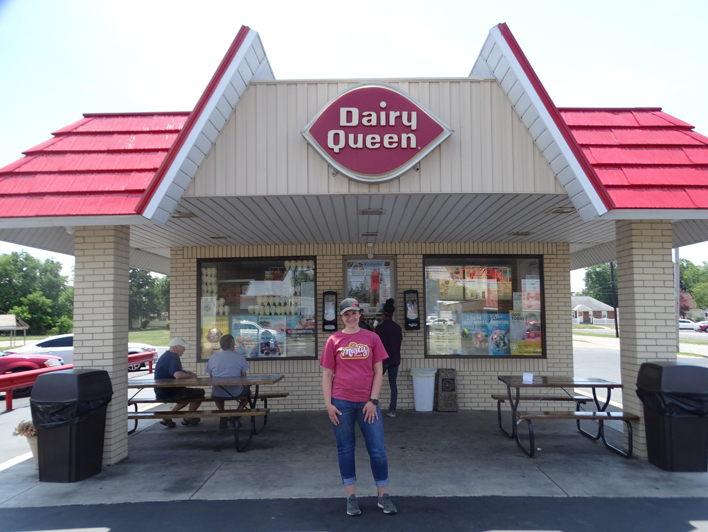 Marissa Tucker, owner of the Dairy Queen on State Street,