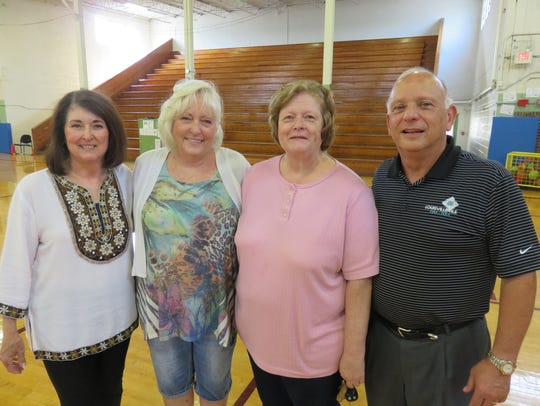 1968 Bearden High classmates, from left, Kathy Long