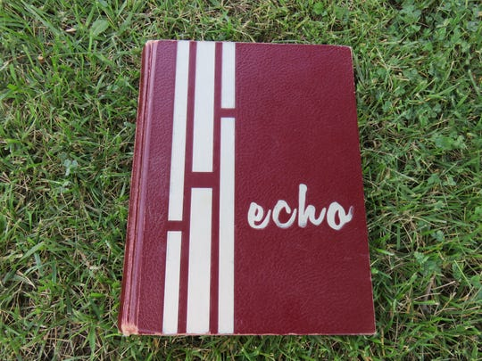 The 1968 Bearden High yearbook, The Echo.