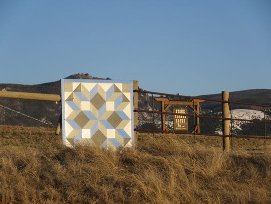 Follow the barn quilts around Meagher County. These