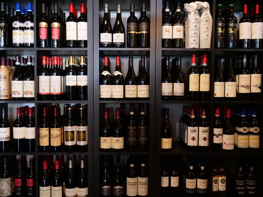 Vineyard Wine Bar in Rehoboth Beach offers 80 wines