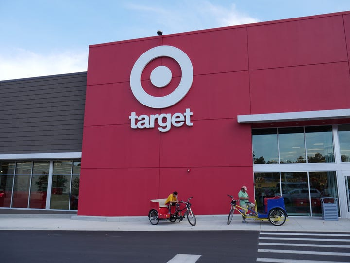 The mini Target store on Tennessee Street will celebrate