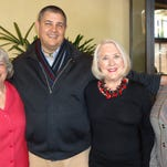 Left to right: Donna Martin, Adam Johnson, Nancy Cunningham, and Nancy Crandall