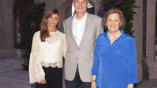 June, John and Caroline Sory