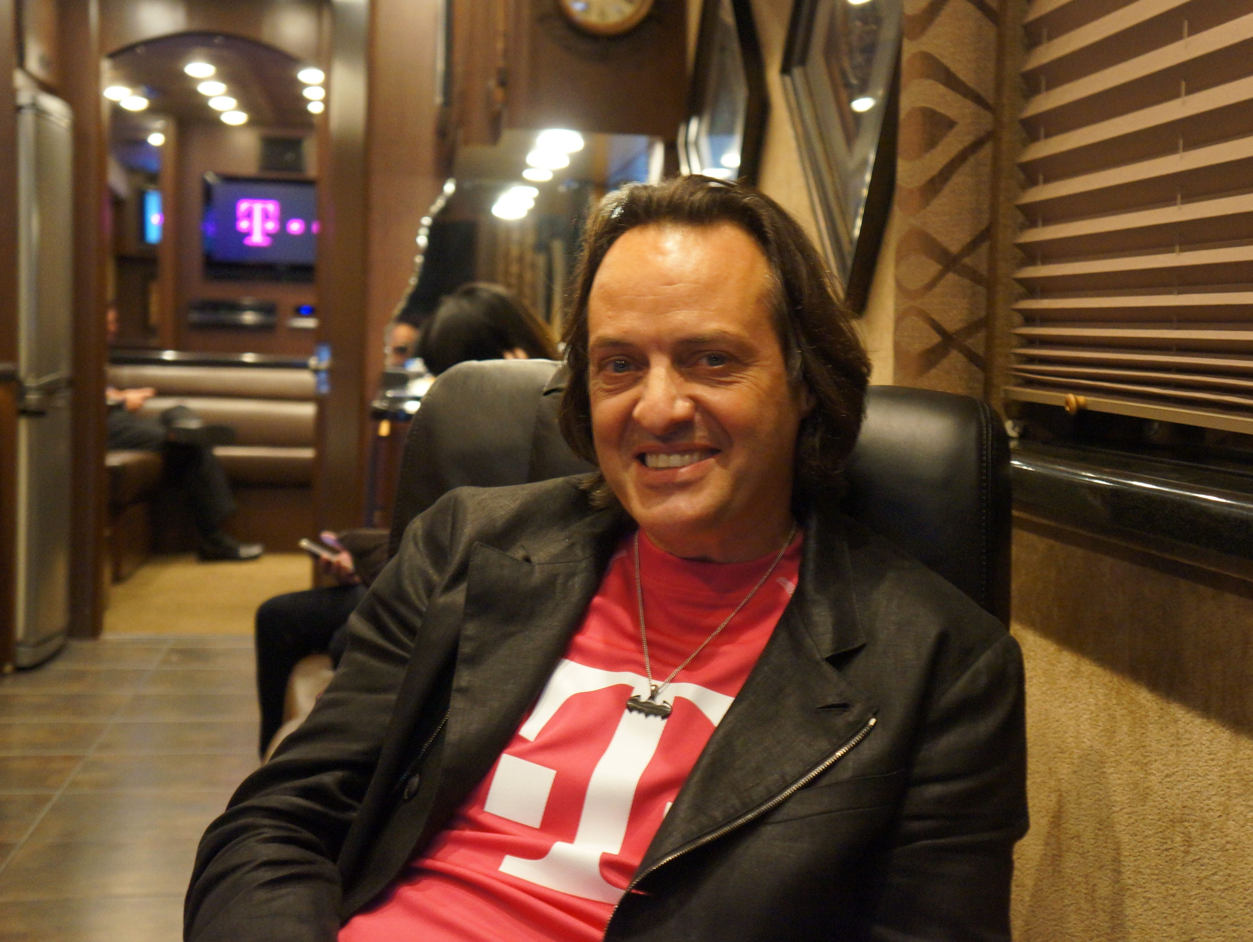 John Legere, T-Mobile CEO, says