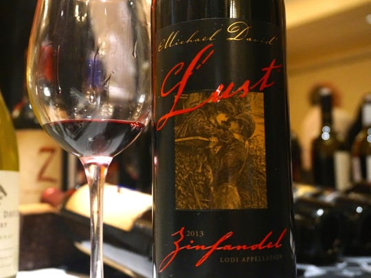 Lust Zin 2013 is indeed lustful with blackberry, cherry, incense, coffee, cocoa and caramel.
