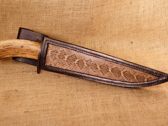 A blade crafted by Tallahassee bladesmith, Dan Hurtado, who's starring on the History Channel's show, Forged in Fire.