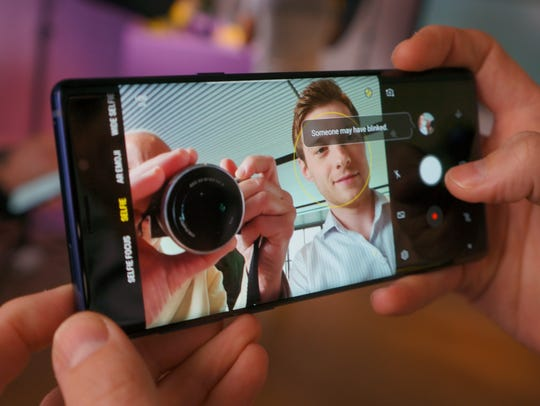 The camera in the Galaxy Note9 can warn you if a subject