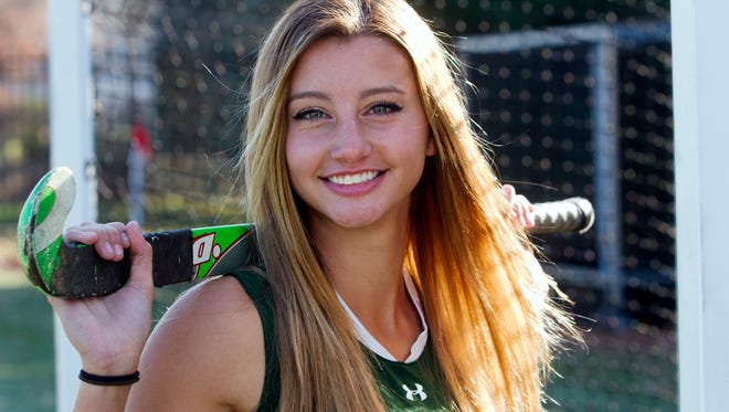 Home News Tribune Field Hockey Player of the Year Caity Hughes of South Plainfield, Wednesday, November 25, 2015.