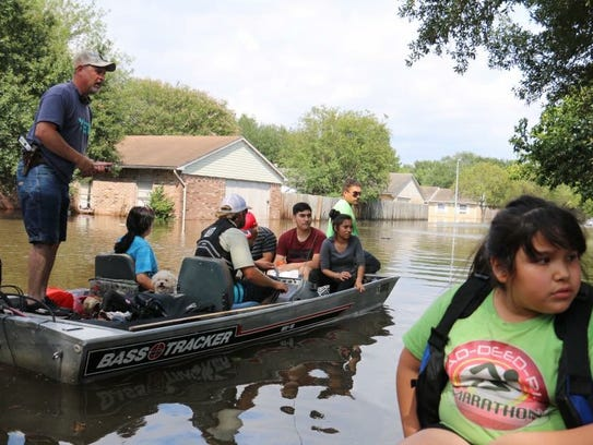 Concho Valley residents boat people to safety after