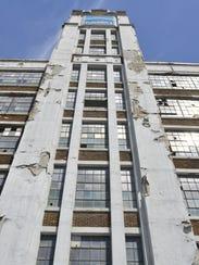Demolition of the former Mirro building on Washington